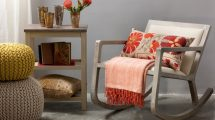 Furniture: Delabole rocking chair, $4,900, INSIDE