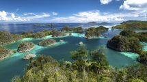 The Raja Ampat archipelago is high on the recommended list of luxury travel expert Vicki Hogg