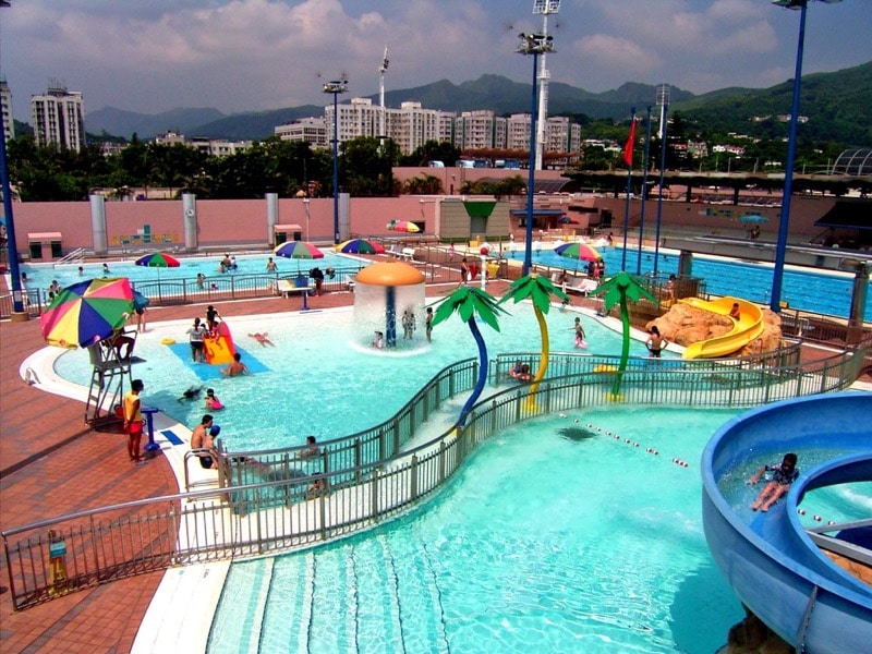 Public swimming pools: Sai Kung Swimming Pool is a popular spot with locals