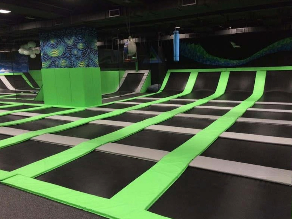 Fitness Ryze Ultimate Trampoline Park Opens In Quarry Bay
