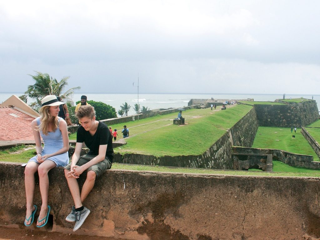 Historical fort at Galle, Sri Lanka