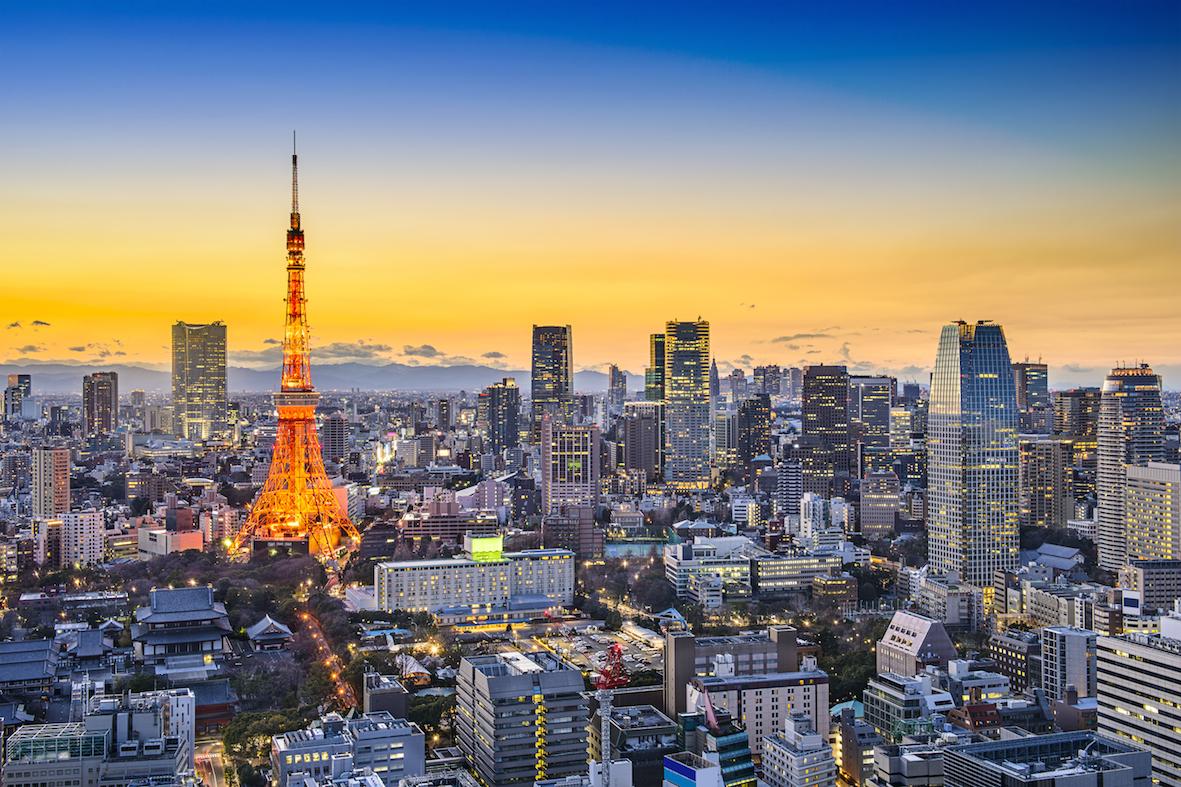 Hong Kong to Tokyo flights to Japan's capital city