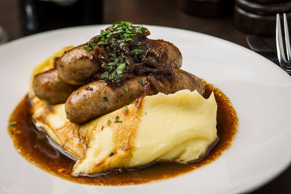 London House: Bangers and Mash? Yes, please!