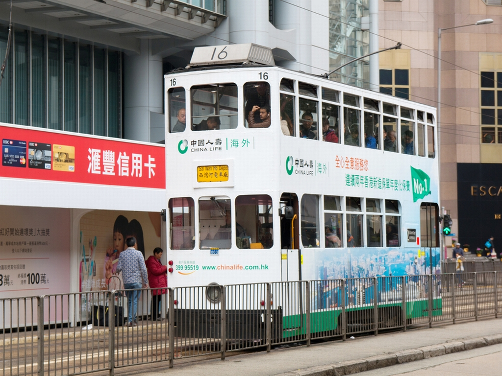 'Ding-ding' the tram is coming