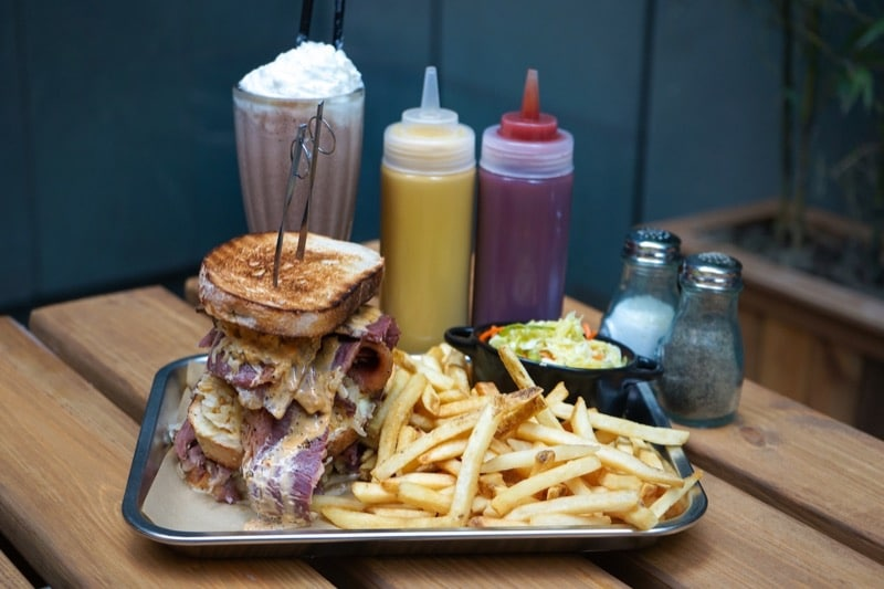 food and restaurant news: Can you handle the Reuben challenge?
