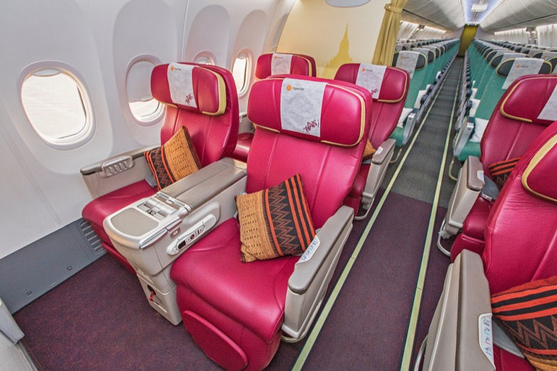 Your holiday starts as soon as you step on board your Myanmar National Airlines flight