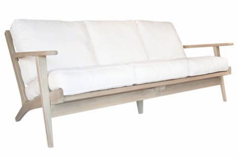 outdoor furniture: Uniqwa Furniture Camps Bay three-seater, $16,040, Atelier Lane,