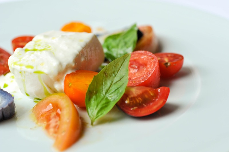 The tomato salad at Giando