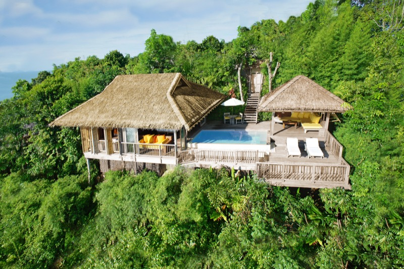Six Senses: One of the beautiful ocean villas