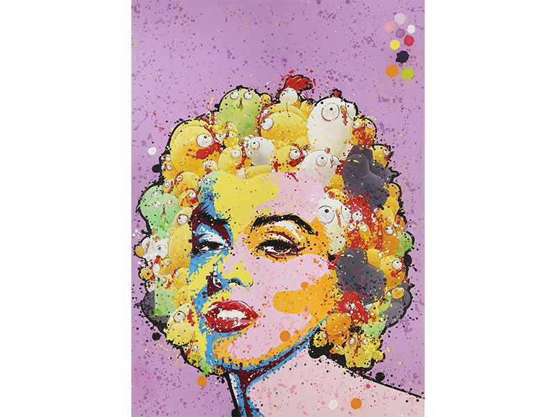 """Blurry Marilyn"" by CEET Fouad, Amanda Wei Gallery, Hong Kong; Asia Contemporary Art Show"