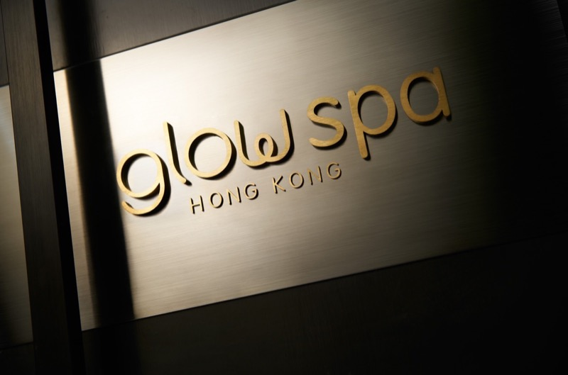 spas: Glow Spa sign