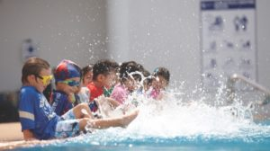 image of swimming pool at Shrewsbury International School