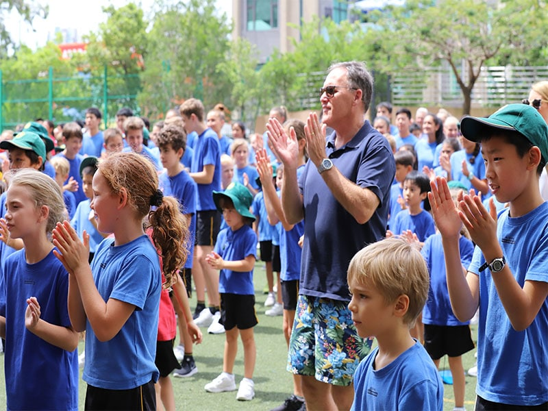 image of Australian International School Hong Kong students