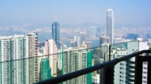 image of Hong Kong skyline for Hong Kong property market update