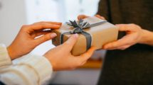 giving gifts birthday christmas