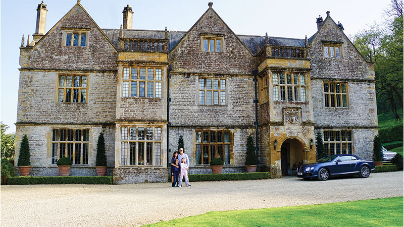 Tracing family roots story: English manor home