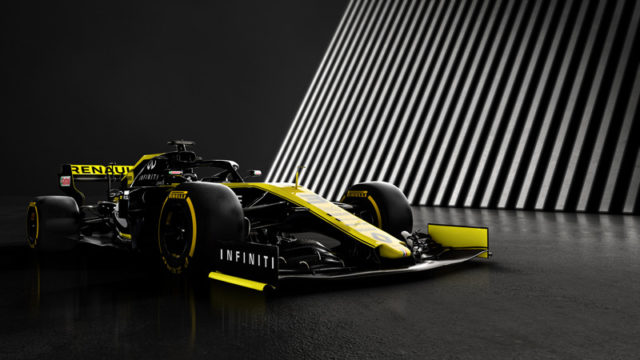 TheArsenale Renault F1 car