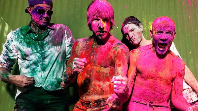 Singapore F1 entertainment: Red Hot Chili Peppers